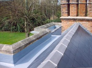 TriRoof Fibreglass Roof Gully