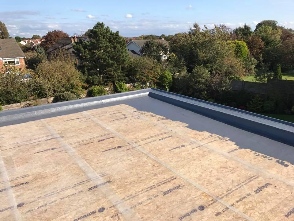 TriRoof GRP Roofing - In Progress