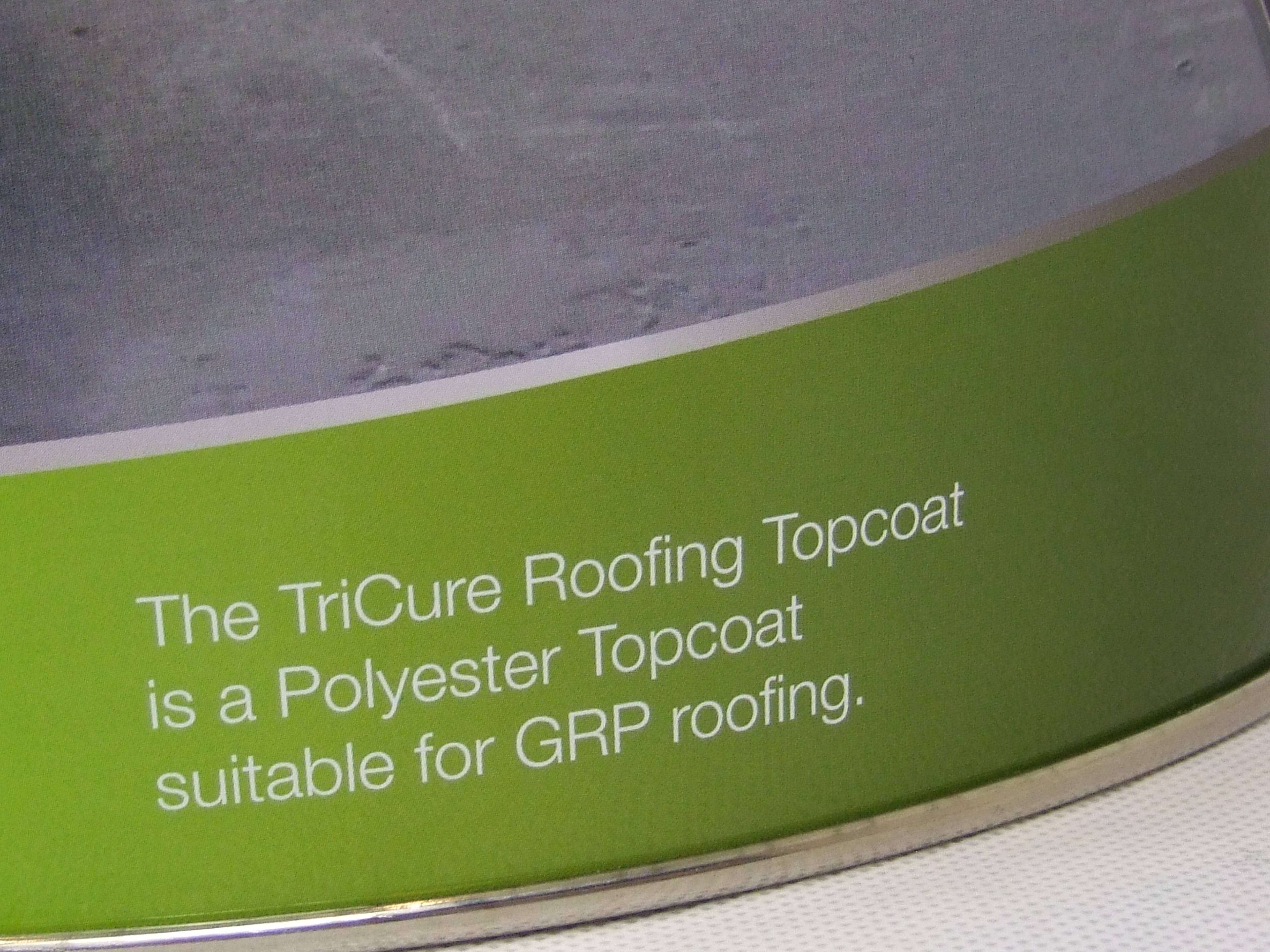Tricure Roofing Topcoat