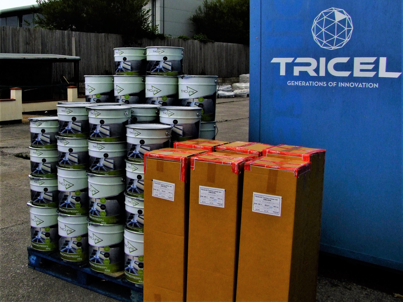 Fibreglass Supplies Dublin | Order Today from Tricel