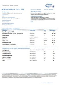 norsodyne h 13212 tae polyester resin data sheet